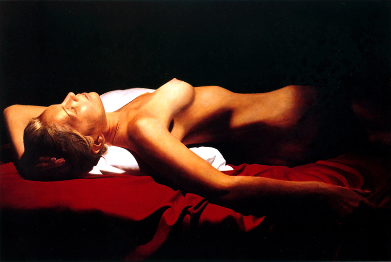 TOBY BOOTHMAN * KATIA * Oil on Canvas 86x130